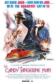 The Candy Tangerine Man 1975 poster