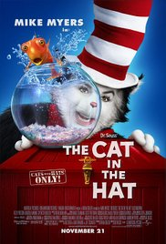The Cat in the Hat (2003) cover