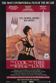 The Cook, the Thief, His Wife & Her Lover (1989) cover