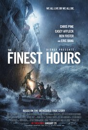 The Finest Hours (2016) cover