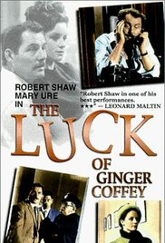 The Luck of Ginger Coffey 1964 poster