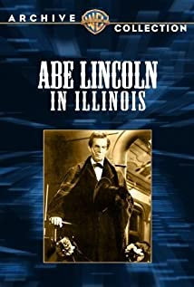 Abe Lincoln in Illinois (1940) cover