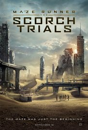 The Scorch Trials (2015) cover