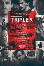 Triple 9 (2016) cover