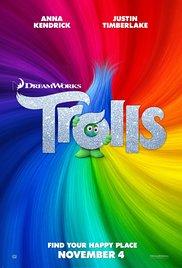 Trolls 2016 poster