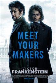Victor Frankenstein (2015) cover