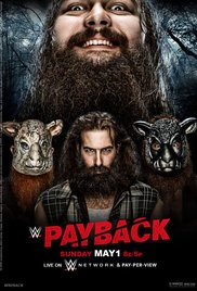 WWE Payback (2016) cover