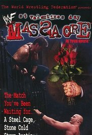 WWF St. Valentine's Day Massacre 1999 poster
