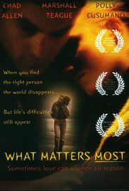 What Matters Most (2001) cover