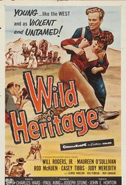 Wild Heritage 1958 poster