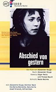 Abschied von gestern - (Anita G.) (1966) cover