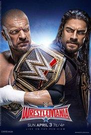 WrestleMania (2016) cover
