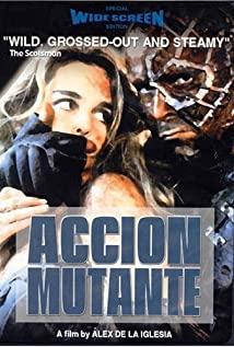 Acción mutante (1993) cover