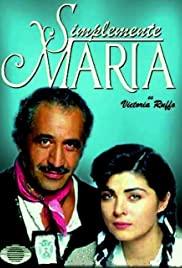 Simplemente María (2015) cover