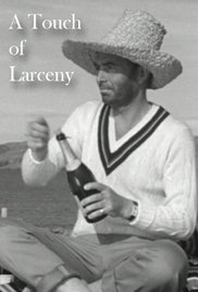 A Touch of Larceny (1960) cover