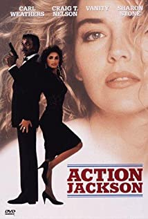 Action Jackson 1988 poster