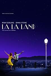 La La Land 2016 poster