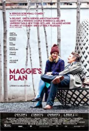 Maggie's Plan (2015) cover