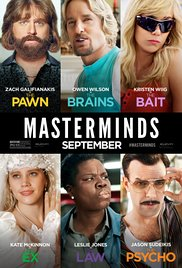 Masterminds 2016 poster
