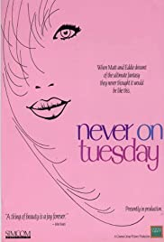 Never on Tuesday (1989) cover