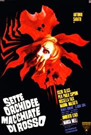 Sette orchidee macchiate di rosso (1972) cover