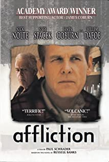 Affliction (1997) cover
