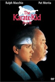 The Karate Kid Part II 1986 poster