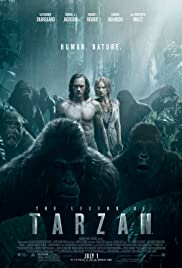 The Legend of Tarzan (2016) cover