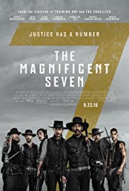The Magnificent Seven (2016) cover