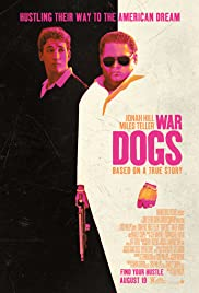 War Dogs (2016) cover