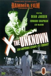 X the Unknown 1956 poster