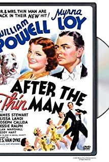 After the Thin Man (1936) cover