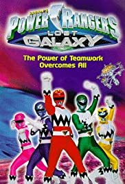Power Rangers Lost Galaxy (1999) cover