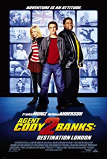 Agent Cody Banks 2: Destination London 2004 poster