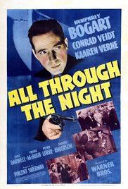 All Through the Night 1942 poster