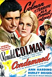 Condemned! 1929 poster