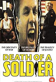 Death of a Soldier 1986 poster