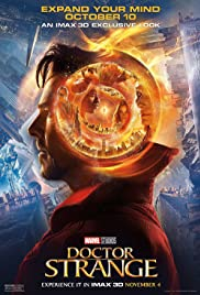 Doctor Strange (2016) cover