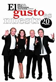 El gusto es nuestro 20 años (2016) cover