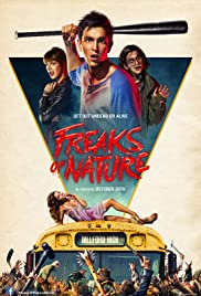 Freaks of Nature 2015 poster