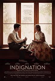 Indignation (2016) cover