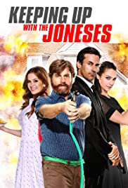 Keeping Up with the Joneses (2016) cover