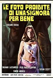 Le foto proibite di una signora per bene (1970) cover
