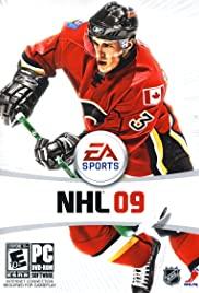 NHL 09 2008 poster