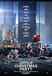 Office Christmas Party (2016) cover