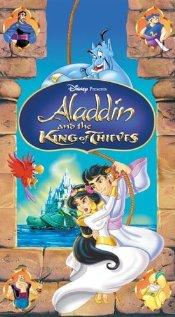 Aladdin and the King of Thieves (1996) cover
