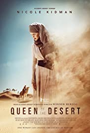 Queen of the Desert 2015 poster