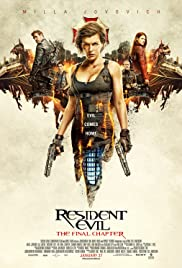 Resident Evil: The Final Chapter (2016) cover