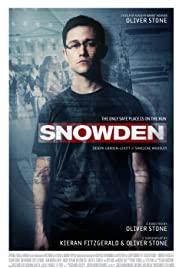 Snowden (2016) cover