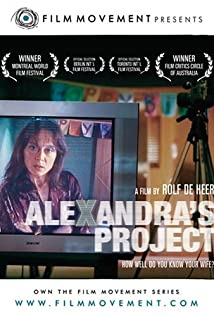 Alexandra's Project 2003 poster